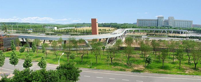 淄博职业学院过街天桥伟德网上娱乐设计