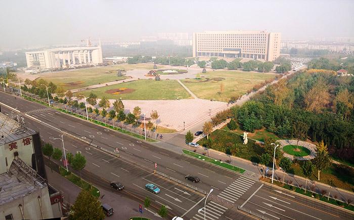 淄博新城区新村路道路伟德网上娱乐