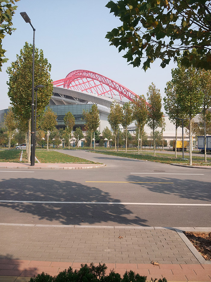 淄博新城区体育中心市政伟德网上娱乐